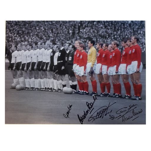 England World Cup 1966 Winners signed photo x5