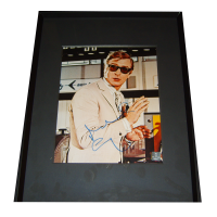 Michael Caine The Italian Job Autographed & Framed Photo