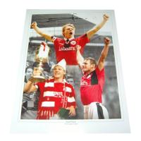 Stuart Pearce Nottingham Forest Legend Autographed Photo Montage