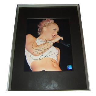 Gwen Stefani No Doubt Autographed & Framed Photo