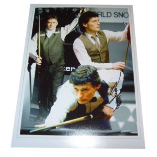 Jimmy White Snooker Legend Signed Photo