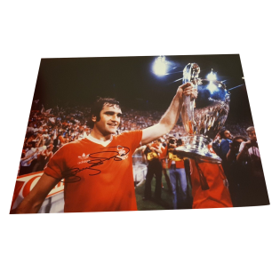 Larry Lloyd Nottingham Forest Legend Autographed Photo