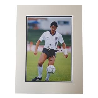 Gary Lineker England Legend Signed Mounted Photo