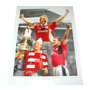 Stuart Pearce Nottingham Forest Legend Autographed Photo Montage