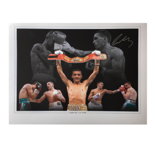Lee Selby Boxing Autographed Photo Montage